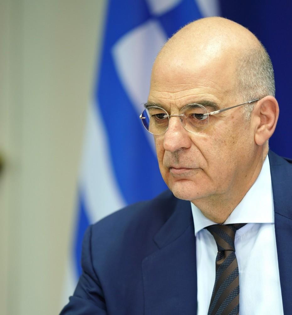 Έμφαση Δένδια στις σχέσεις ΗΠΑ - Ελλάδας, με τα συγχαρητήρια προς τον Μπάιντεν