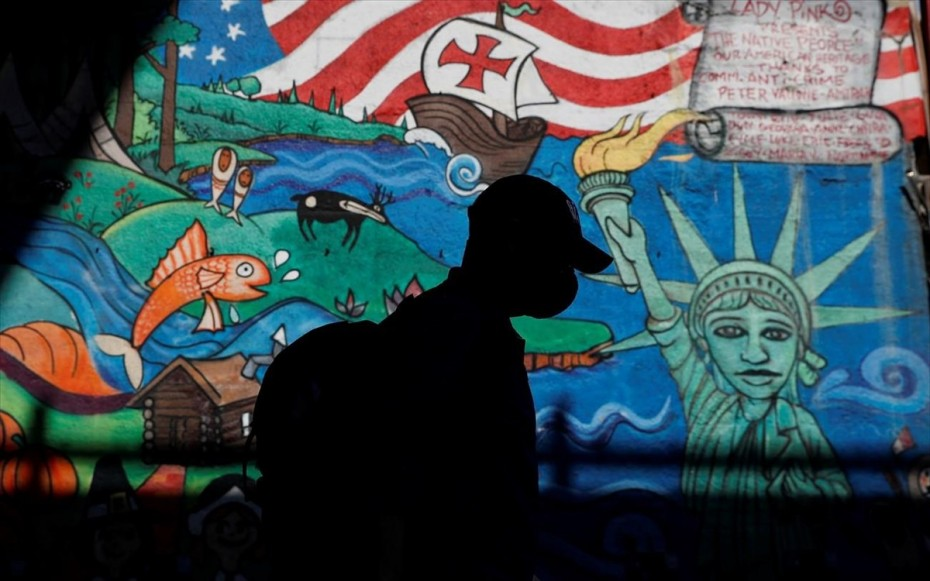 Κορονοϊός: Σε χαμηλό 5μήνου τα κρούσματα στις ΗΠΑ