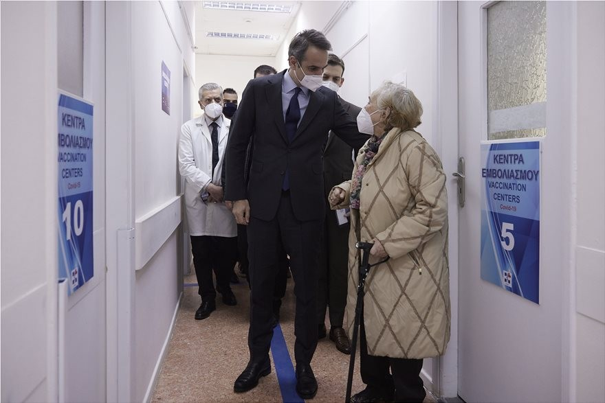 Κ. Μητσοτάκης: Στις ταχύτερες εμβολιαστικά χώρες της Ευρώπης η Ελλάδα