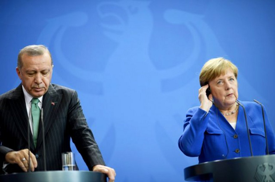 Ερντογάν σε Μέρκελ: Η Ελλάδα να ενθαρρυνθεί για διάλογο, εμείς θέλουμε σταθερότητα