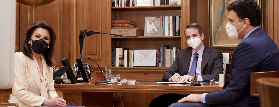 Κ. Μητσοτάκης: Επαναλειτουργία αγοράς κι εκπαίδευσης με «έξυπνες λύσεις»