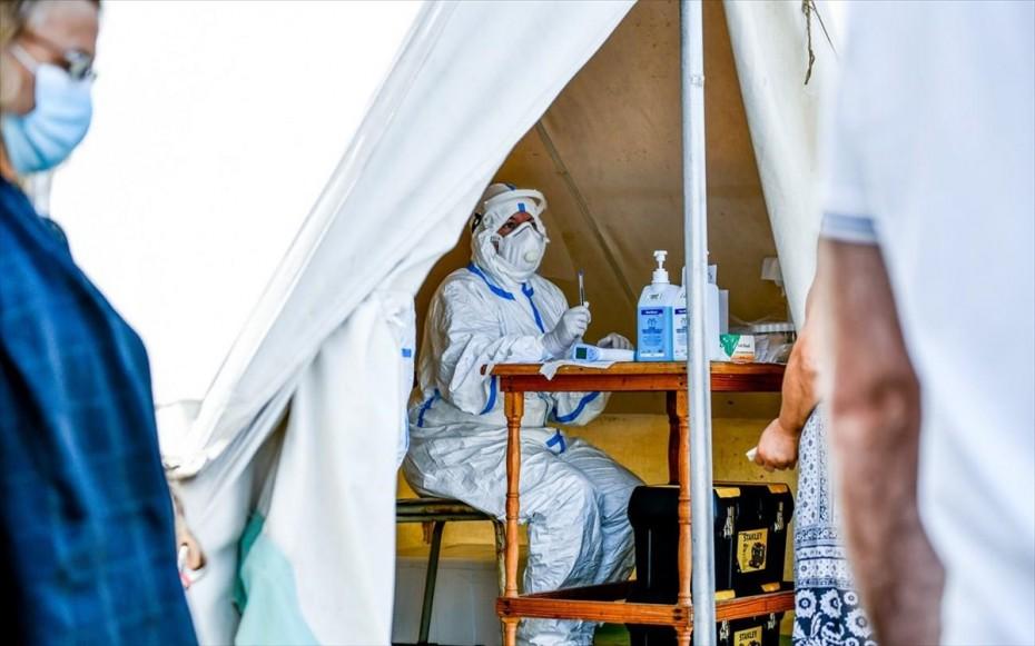 Κορονοϊός: 3.445 νέα κρούσματα και 75 θάνατοι