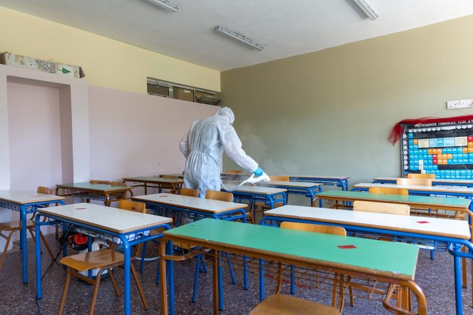 Επιστροφή στα θρανία με testing για μαθητές και δασκάλους