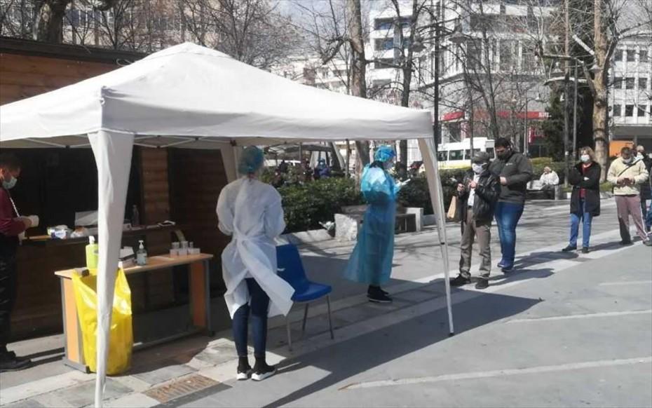ΕΟΔΥ: Που θα γίνονται δωρεάν rapid test σήμερα, Τρίτη του Πάσχα