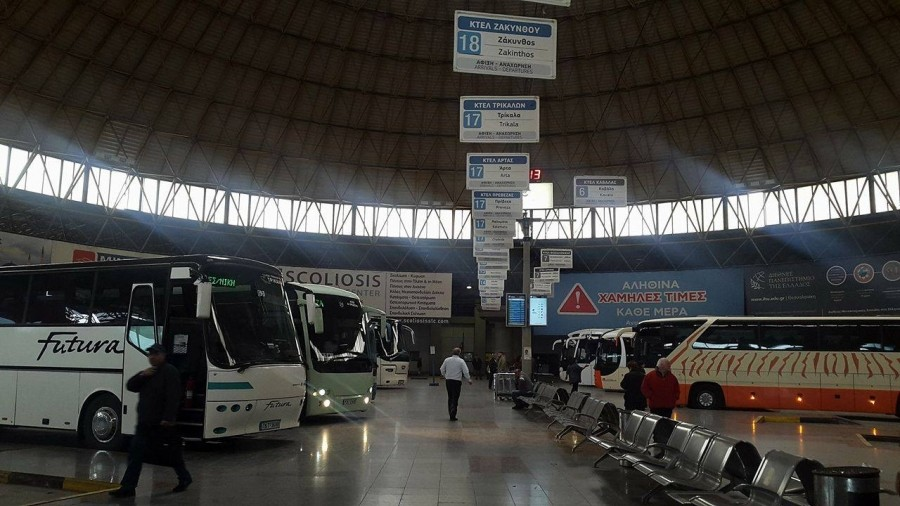 Θεσσαλονίκη: Αύξηση 30% στις κρατήσεις εισιτηρίων στα ΚΤΕΛ