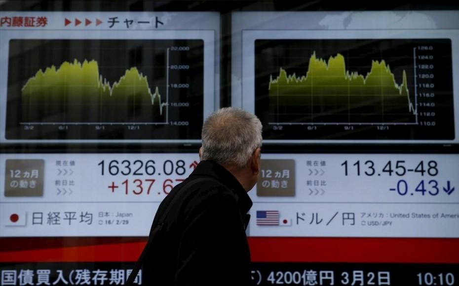 Πάνω η Ασία μετά την ανάκαμψη της Wall Street
