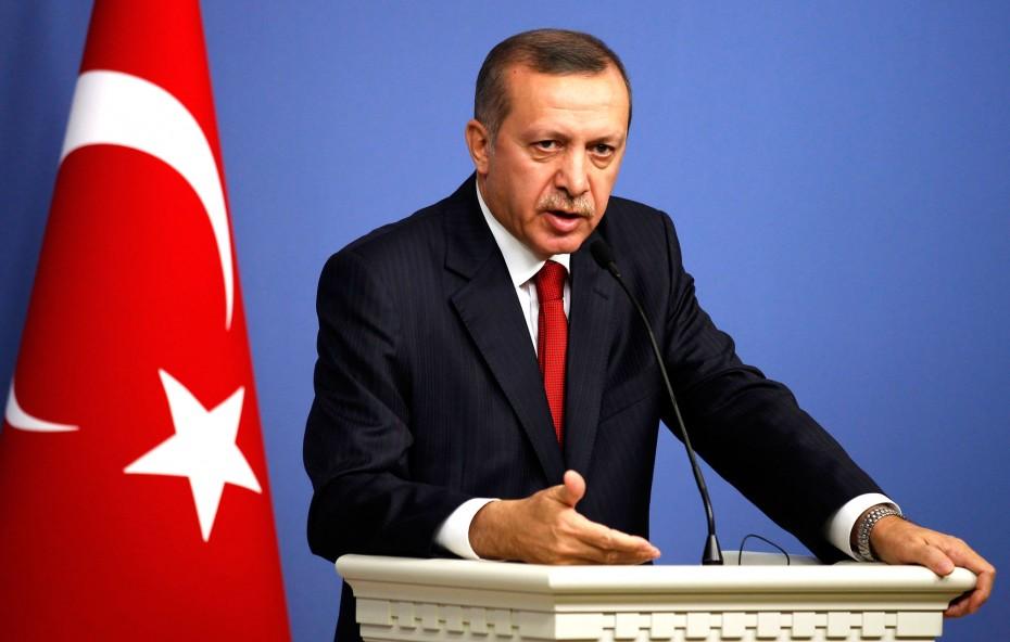 Τ. Ερντογάν: Ζητά την παρέμβαση ΟΗΕ και μουσουλμανικών χωρών για το Μεσανατολικό