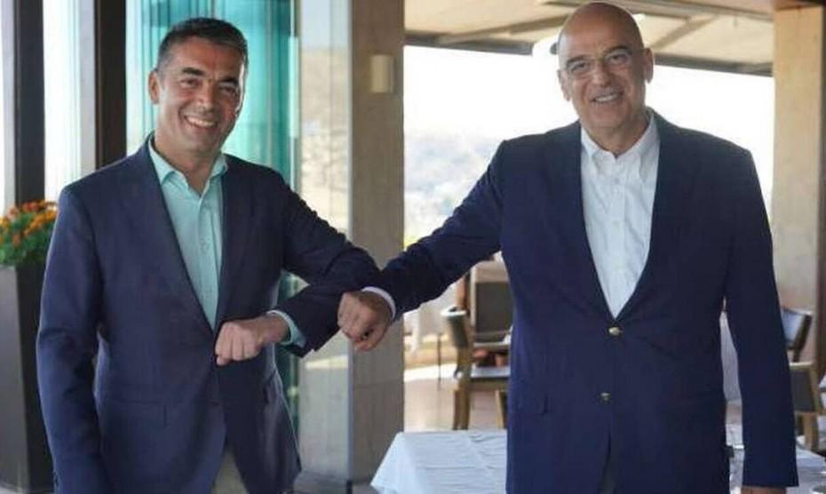 Δένδιας-Ντιμιτρόφ: Σταθερή στήριξη της Ελλάδας στην ευρωπαϊκή προοπτική των Δ. Βαλκανίων