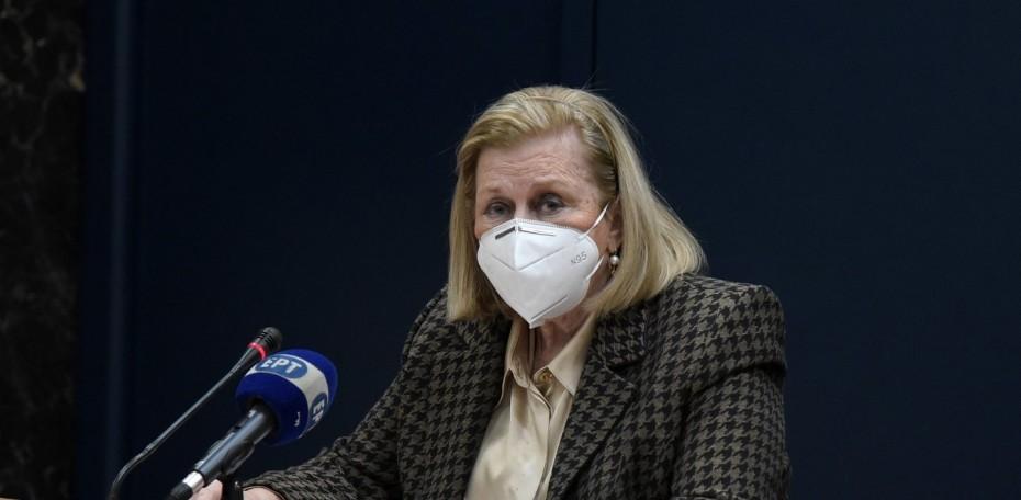 Μ. Θεοδωρίδου: Δεν συστήνεται έλεγχος αντισωμάτων μετά τον εμβολιασμό