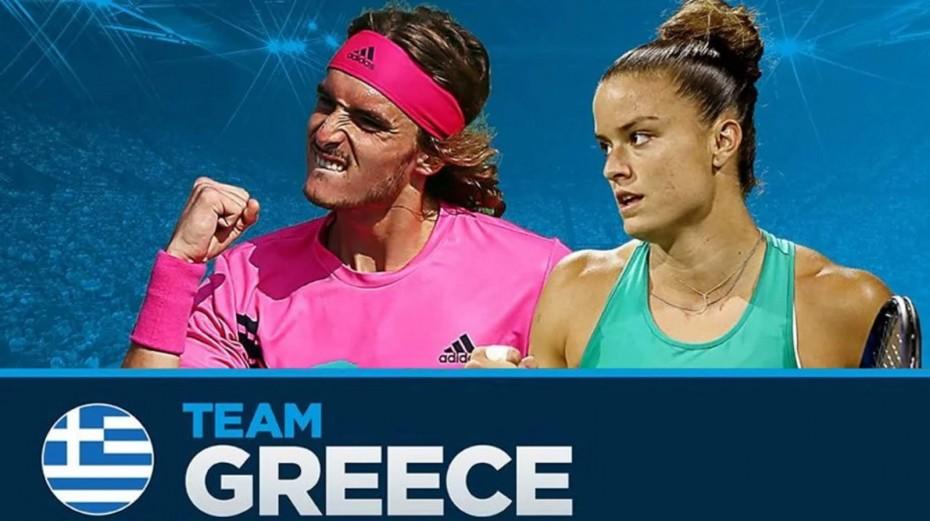 Στην «κορυφή» το ελληνικό τένις: Ασταμάτητοι Σάκκαρη - Τσιτσιπάς