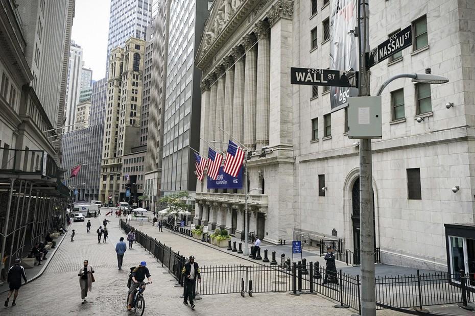 Μικρή πτώση για τη Wall Street- Δεν επηρέασε το «πέσιμο» πολύ σημαντικών ιστοσελίδων