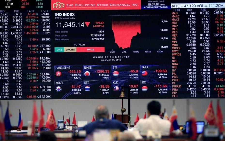 «Κόκκινο» στην Ασία με τη Fed σε πρώτο πλάνο