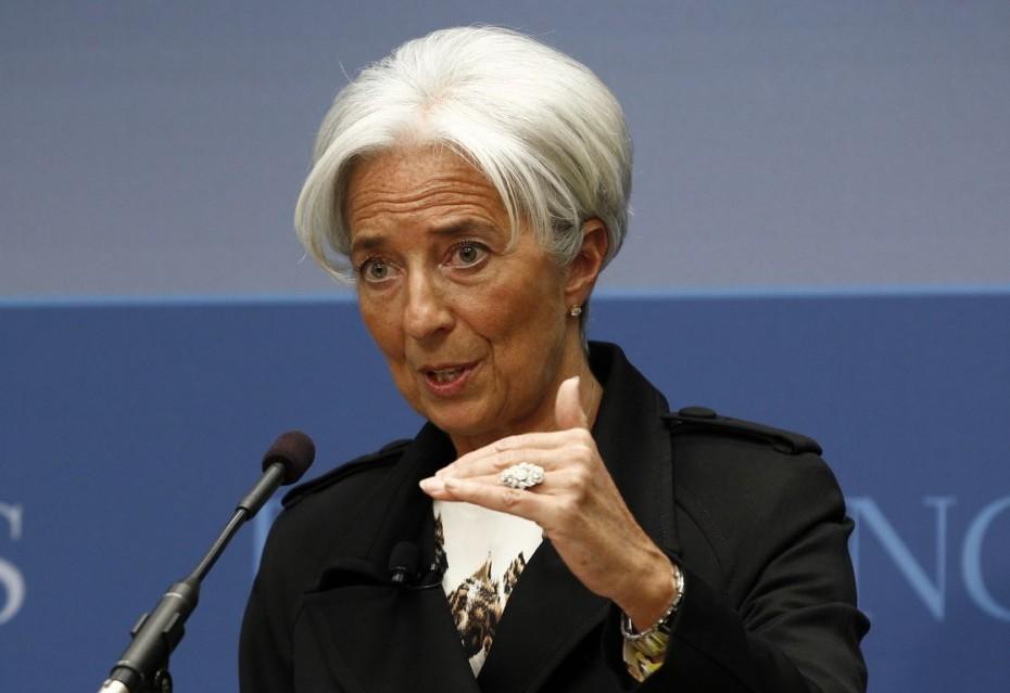 Κ. Λαγκάρντ:«Σε πορεία ανάκαμψης η οικονομία της ευρωζώνης»
