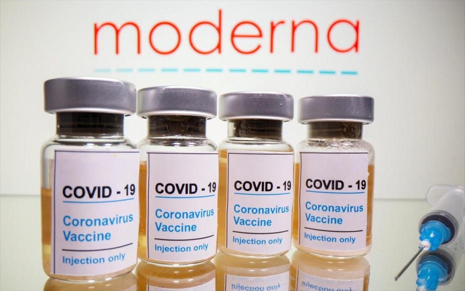 Άλλα 200 εκατ. εμβόλια της Moderna αγόρασαν οι ΗΠΑ