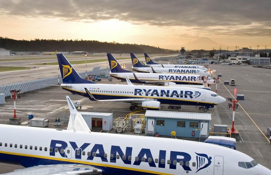 Ryanair: Αγωγή κατά της βρετανικής κυβέρνησης για τη «λίστα» που διέπει τις διεθνείς μετακινήσεις