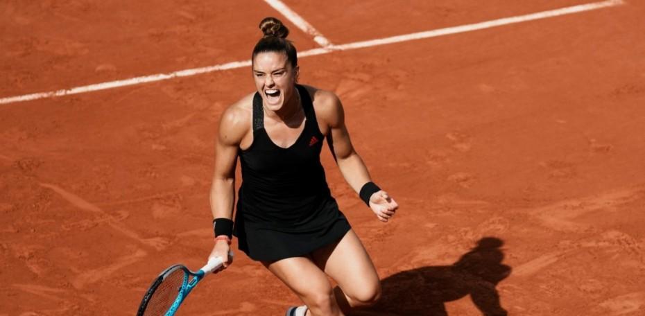 Μεγάλη νίκη Σάκκαρη: Στα ημιτελικά του Roland Garros για πρώτη φορά το ελληνικό γυναικείο τένις