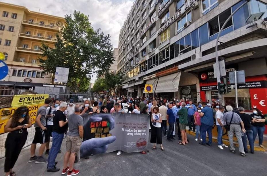 Θεσσαλονίκη: Διαμαρτυρία αρχαιολόγων για την απόσπαση αρχαιοτήτων στο σταθμό Μετρό Βενιζέλου