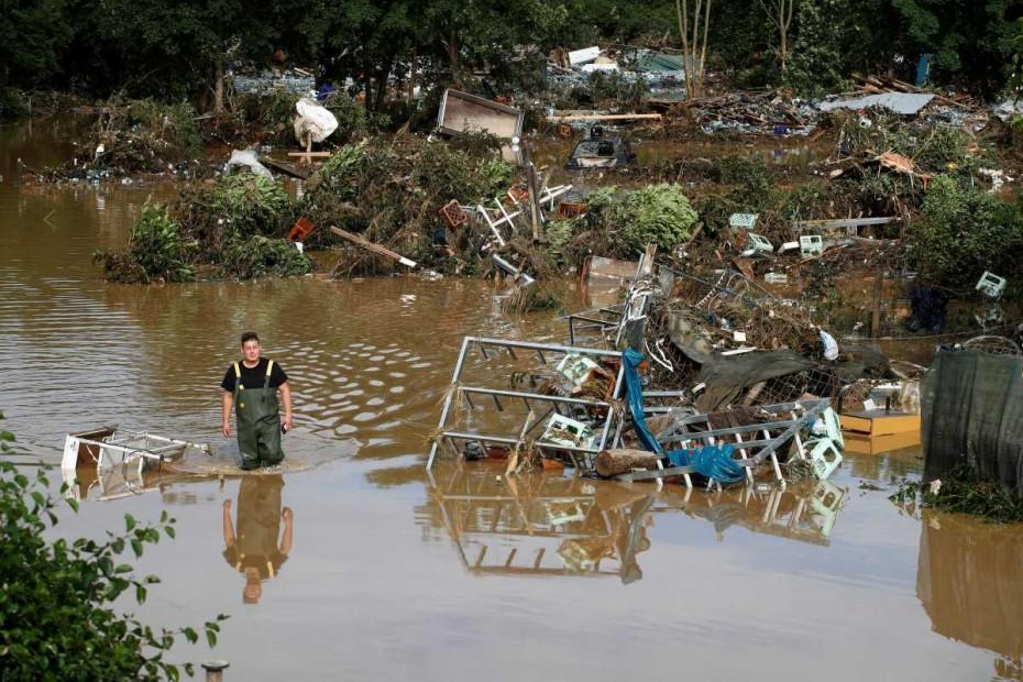 Στους 81 οι νεκροί από τις πλημμύρες στη δυτική Γερμανία - 1300 αγνοούμενοΙ