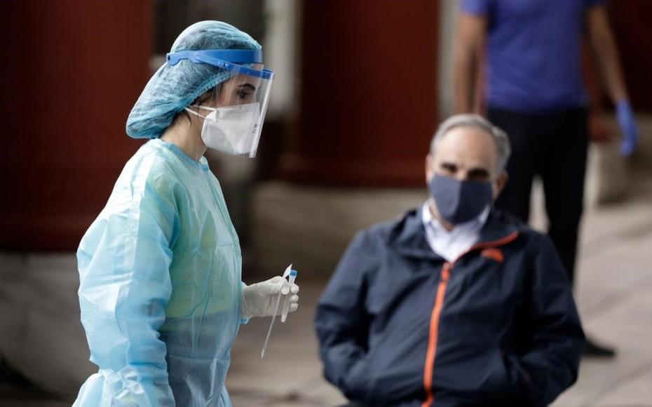 Κορωνοϊός: 2.972 νέα κρούσματα, 3 θάνατοι, 125 διασωληνωμένοι