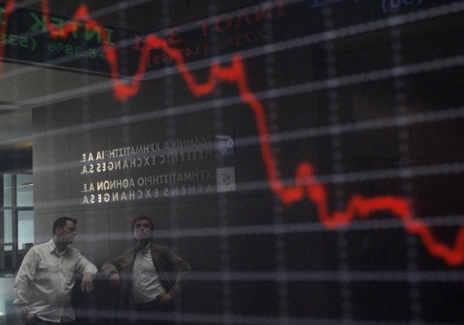 ΧΑ: Ήπιες απώλειες υπό το βάρος των ευρωπαϊκών αγορών