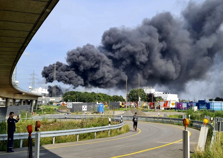 Ακόμη τρεις σοροί ανασύρθηκαν από το σημείο της έκρηξης στο Χημικό Πάρκο του Λεβερκούζεν
