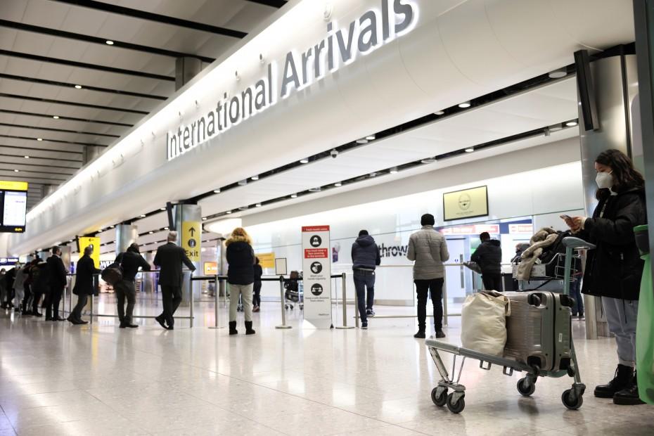 Βρετανία: Έκκληση Χίθροου για άνοιγμα της χώρας σε εμβολιασμένους ταξιδιώτες