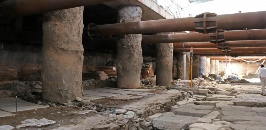 ΣΕΑ: Απεργία-αποχή από την απόσπαση των βυζαντινών αρχαιοτήτων του Σταθμού Βενιζέλου