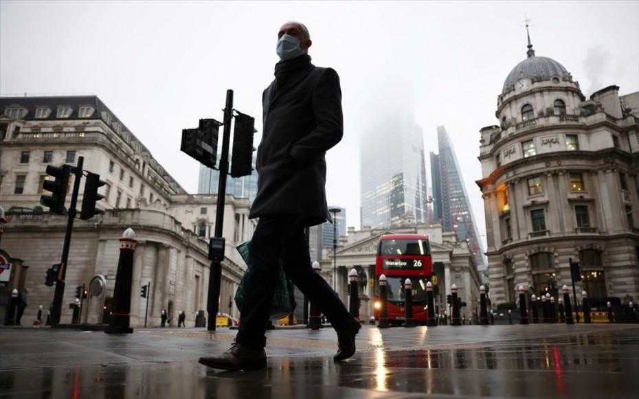 Βρετανία-Covid-19: Αύξηση σχεδόν 41% των κρουσμάτων μέσα στην προηγούμενη εβδομάδα