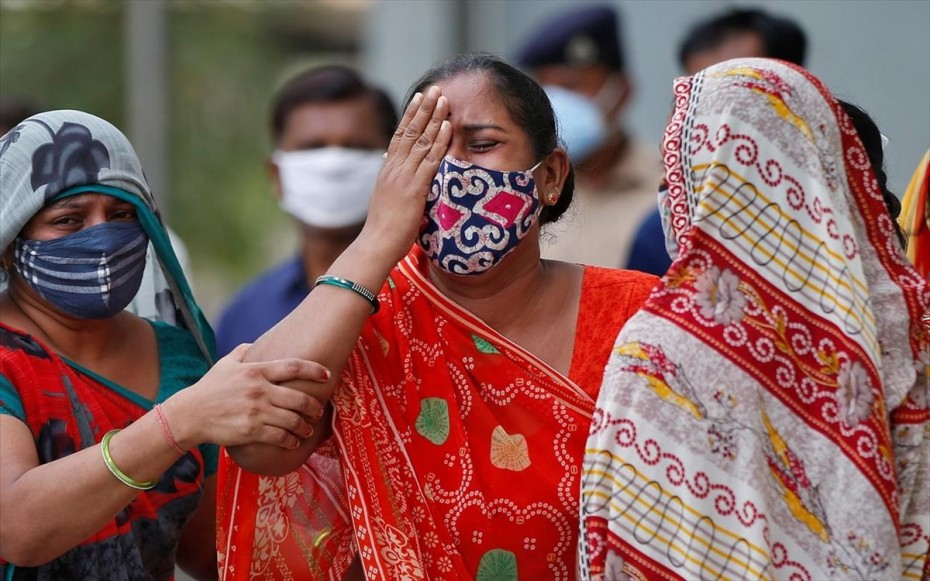 Ινδία: Άλλοι 535 θάνατοι εξαιτίας της COVID-19, σχεδόν 40.000 κρούσματα του νέου κορονοϊού σε 24 ώρες