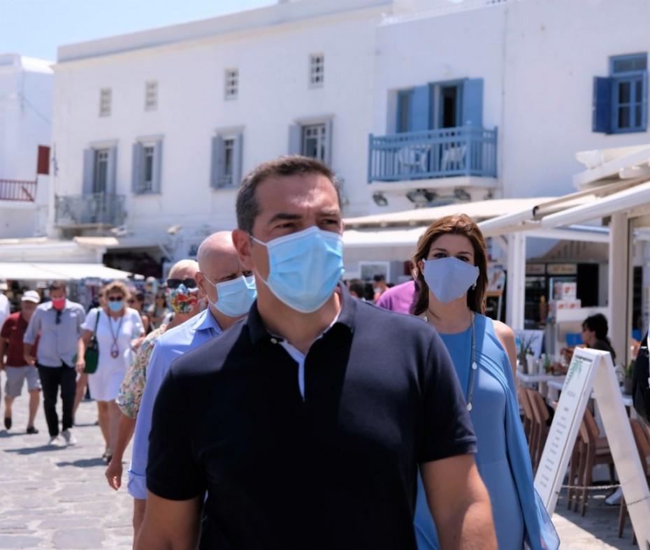 Αλέξης Τσίπρας: Η Μύκονος χαρακτηριστικό παράδειγμα της αποτυχίας της κυβέρνησης