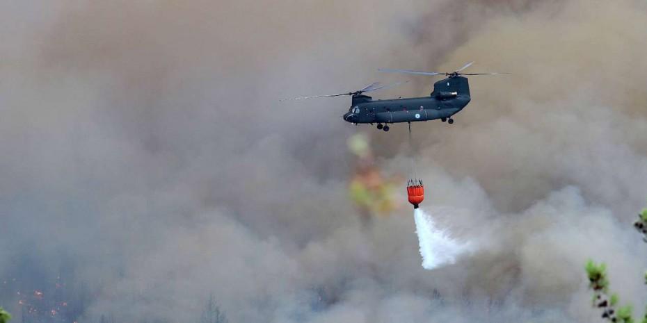Φωτιές 2021: Παραιτήθηκε ο διοικητής της Αεροπορίας Στρατού [Βίντεο]