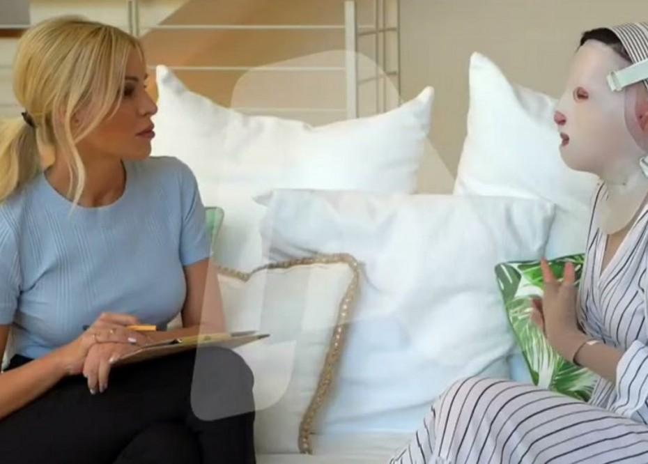 Ιωάννα Παλιοσπύρου:  Η πρώτη συγκλονιστική συνέντευξη 16 μήνες μετά την επίθεση με βιτριόλι
