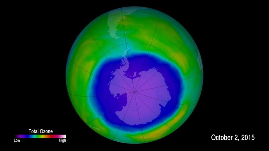Μεγαλύτερη και από την Ανταρκτική η τρύπα του όζοντος το Σεπτέμβριο