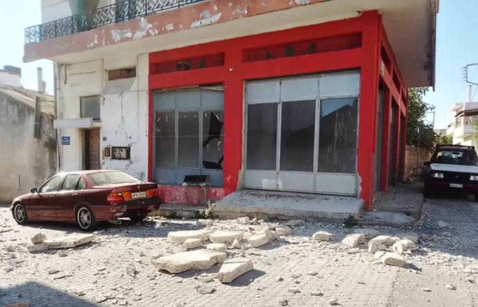 Σεισμός στην Κρήτη: Ένας νεκρός και 9 τραυματίες στο Αρκαλοχώρι
