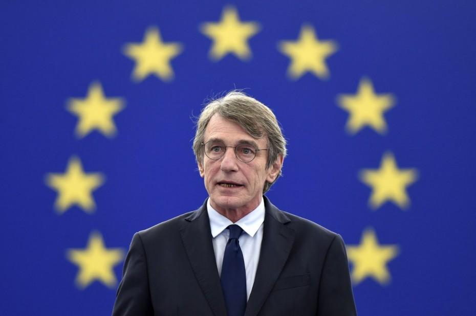Ο πρόεδρος του Ευρωπαϊκού Κοινοβουλίου καλεί την Ευρωπαϊκή Ενωση «να αναλάβει τις ευθύνες της»