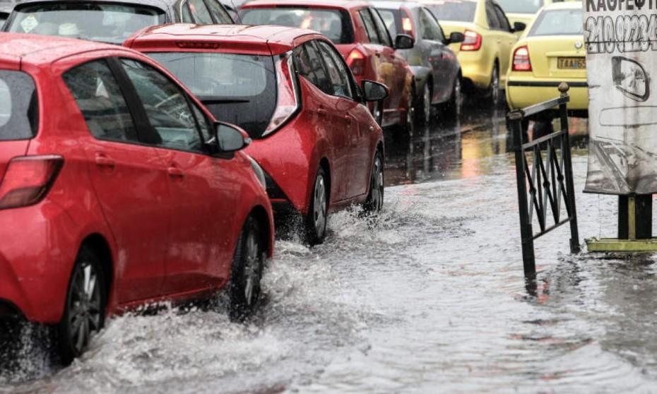 Διακοπή της κυκλοφορίας σε σημεία του Μαρκόπουλου