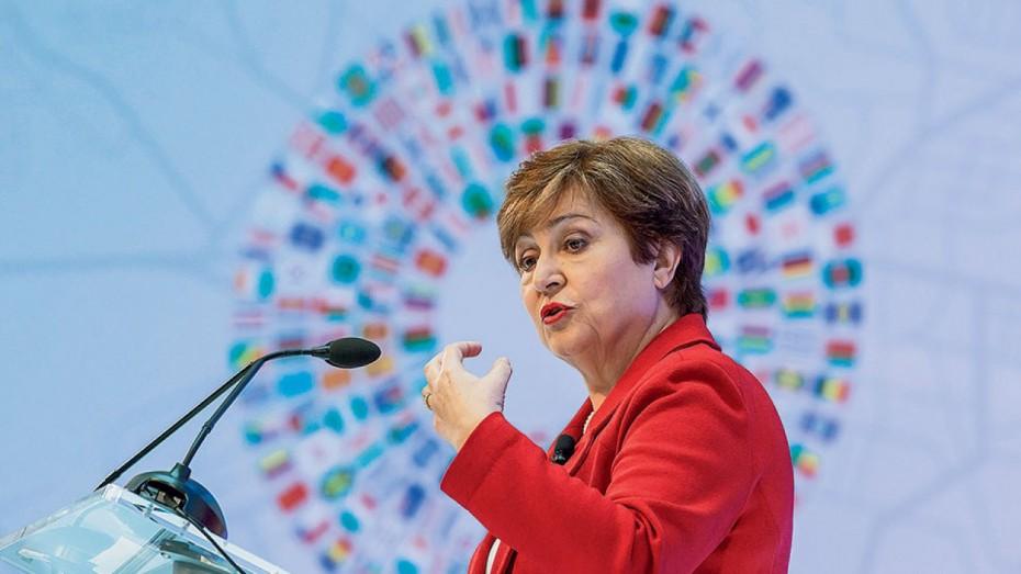 ΔΝΤ: Μένει στη θέση της η Γκεοργκίεβα